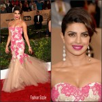 Priyanka Chopra In Monique Lhuillier – 2016 Screen Actors Guild Awards