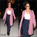 Rihanna Spotted In Celine – Out  In New York