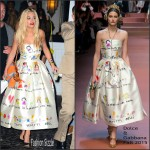 Rita Ora  in Dolce & Gabbana – Twist Nightclub in Miami Beach