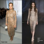 Rita Ora In Ralph & Russo Couture – Ralph & Russo Paris Fashion Week