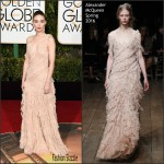 Rooney Mara in Alexander McQueen at 2016   Golden Globe Awards