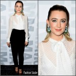 Saoirse Ronan  in Laura  Basci – 'Brooklyn'  Museum of Modern Art  New York Screening
