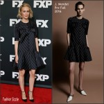 Sarah Paulson In J. Mendel – FX TCA Winter Press Tour Panel