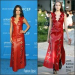 Selena Gomez In  Louis Vuitton – 2016 UNICEF Ball