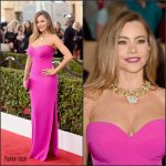 Sofia Vergara In  Vera Wang – 2016 Screen Actors Guild Awards