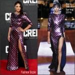 Tessa Thompson in Marc Jacobs – 'Creed' London Premiere