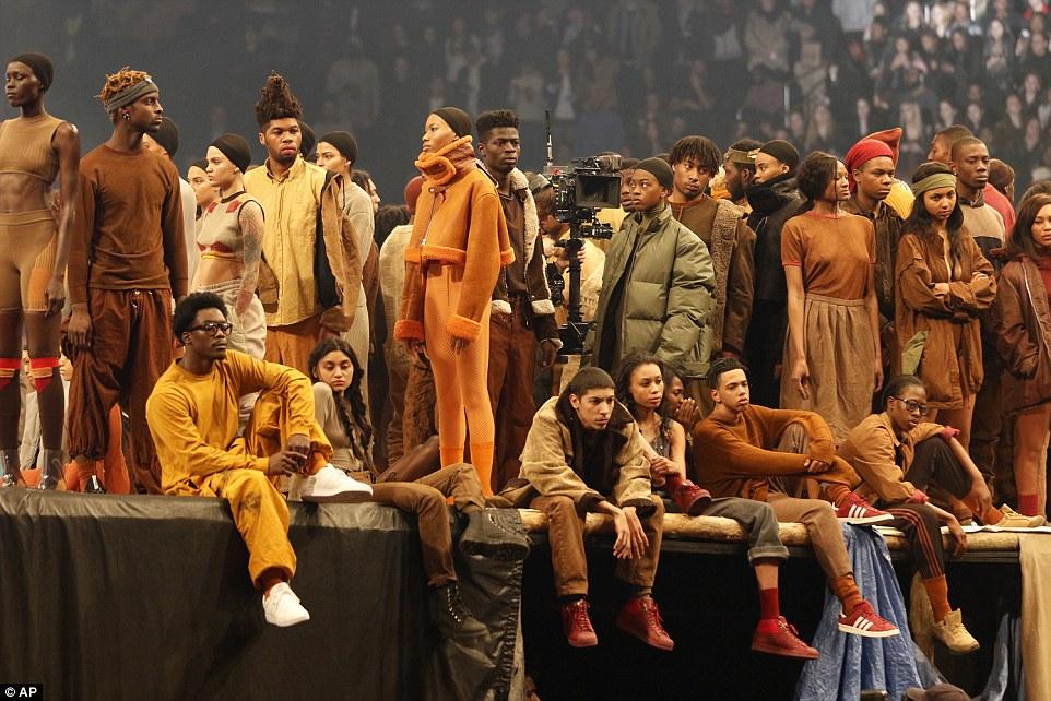 Kanye West Yeezy3 Fashion Show Madison Square Garden Fashionsizzle