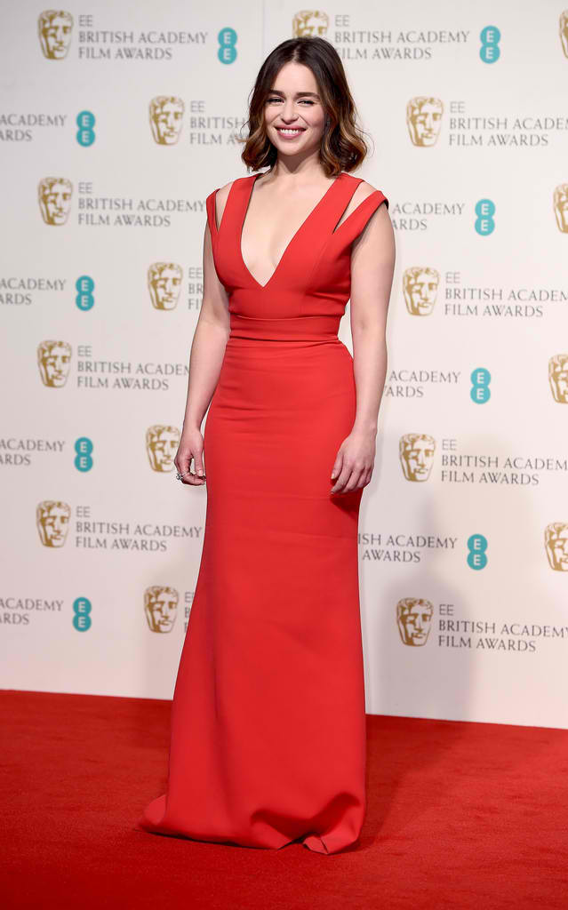 EE-British-Academy-Film-Awards-Emilia-Clarke