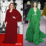 Adele In  Giambattista Valli – 2016 Brit Awards