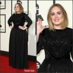 Adele In Givenchy – 2016 Grammys