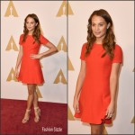 Alicia Vikander  in Louis Vuitton –  2016  Academy Awards Nominee Luncheon in Beverly Hills, CA
