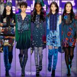 "Anna Sui Fall/Winter 2016-2017 RTW – ""Pop-sydelic""  styles -NYFW"