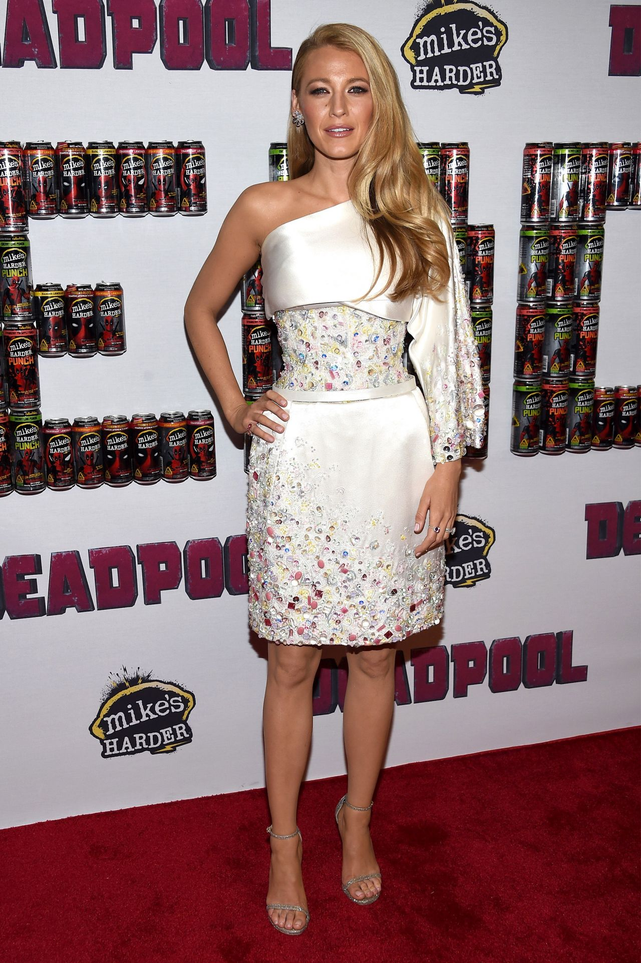 Blake Lively in Chanel Couture - Deadpool New York Fan Event ...