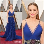 Brie Larson in Gucci – Oscars 2016 in Hollywood