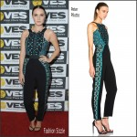 Camilla Luddington In Peter Pilotto – 2016 VES Awards