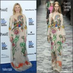 Cate Blanchett in Gucci at the 2016 Film Independent Spirit Awards