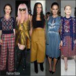 Celebrities at Fall 2016 NYFW – New York