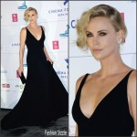 Charlize Theron in Christian Dior  –  2016 Cinema For Peace Gala
