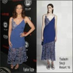 Chelsea Peretti  In  Tadashi Shoji – Vanity Fair and FIAT Young Hollywood Celebration