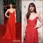 Dakota Johnson In Dior – 2016 EE British Academy Film Awards