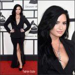 Demi Lovato  In Norisol Ferrari – 2016 Grammys