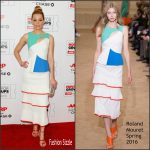 Elizabeth Banks in Roland Mouret  – 2016 AARP's Movie For GrownUps Awards in Beverly Hills