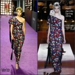 Gigi Hadid  In Marc Jacobs – Zoolander 2 World Premiere