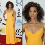 Gugu Mbatha-Raw  In Narciso Rodriguez – 2016 NAACP Image Awards