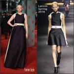 Gwendoline Christie  In  Lanvin – 2016 EE British Academy Film Awards