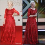 Helen Mirren  in Jacques Azagury  –  Goldene  Kamera Awards