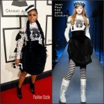 Janelle Monae in Jean Paul Gaultier Couture – 2016 Grammy Awards
