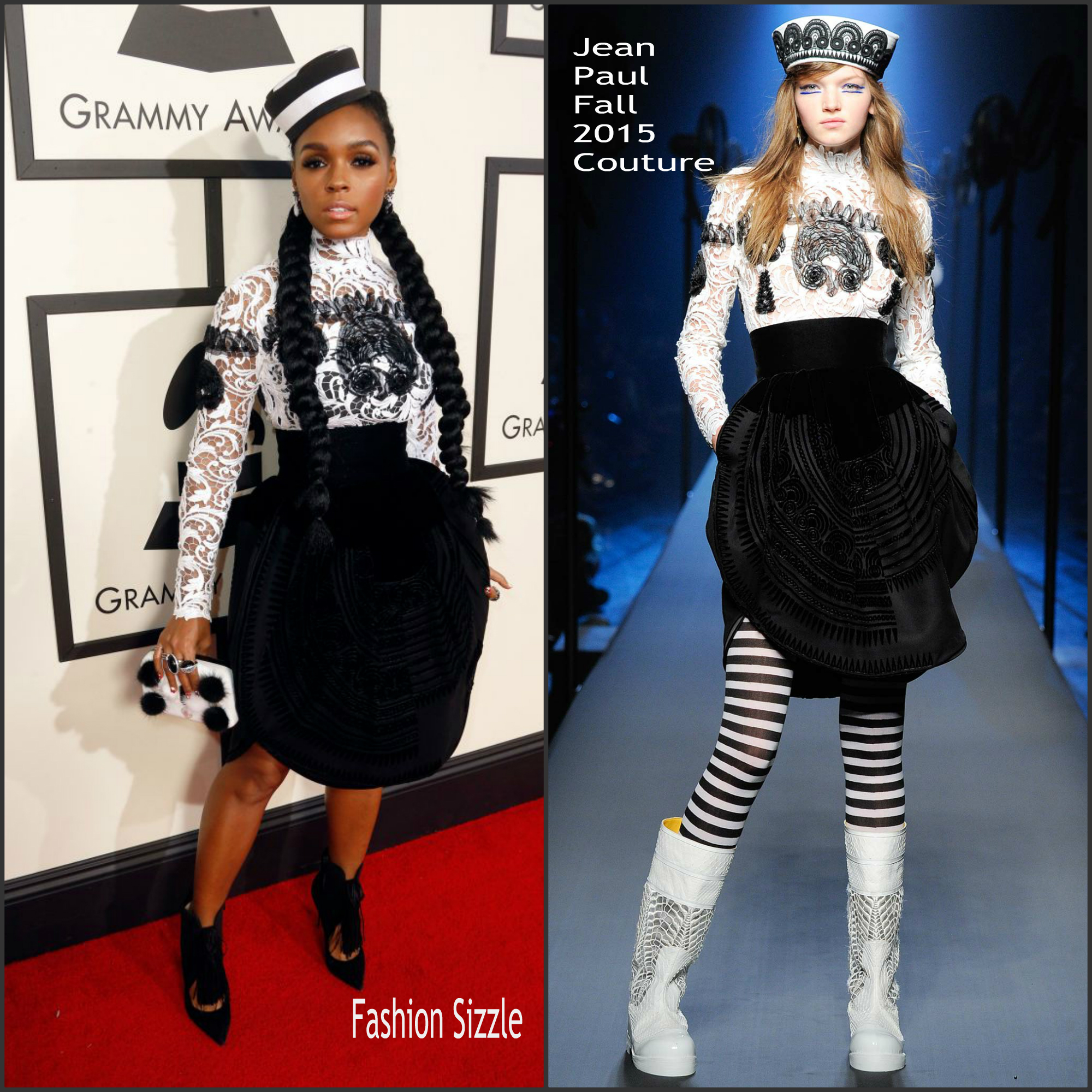 janelle-monae-in-jean-paul-gaultier-couture-2016-grammy-awards