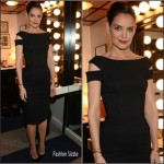 Katie Holmes in Zac Posen  –  Tonight Show with Jimmy Fallon
