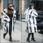 Kim Kardarshian  first public appearance since the birth of son Saint West