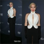 Lady Gaga in  Brandon Maxwell – Weinstein Company's Pre-Oscar Dinner