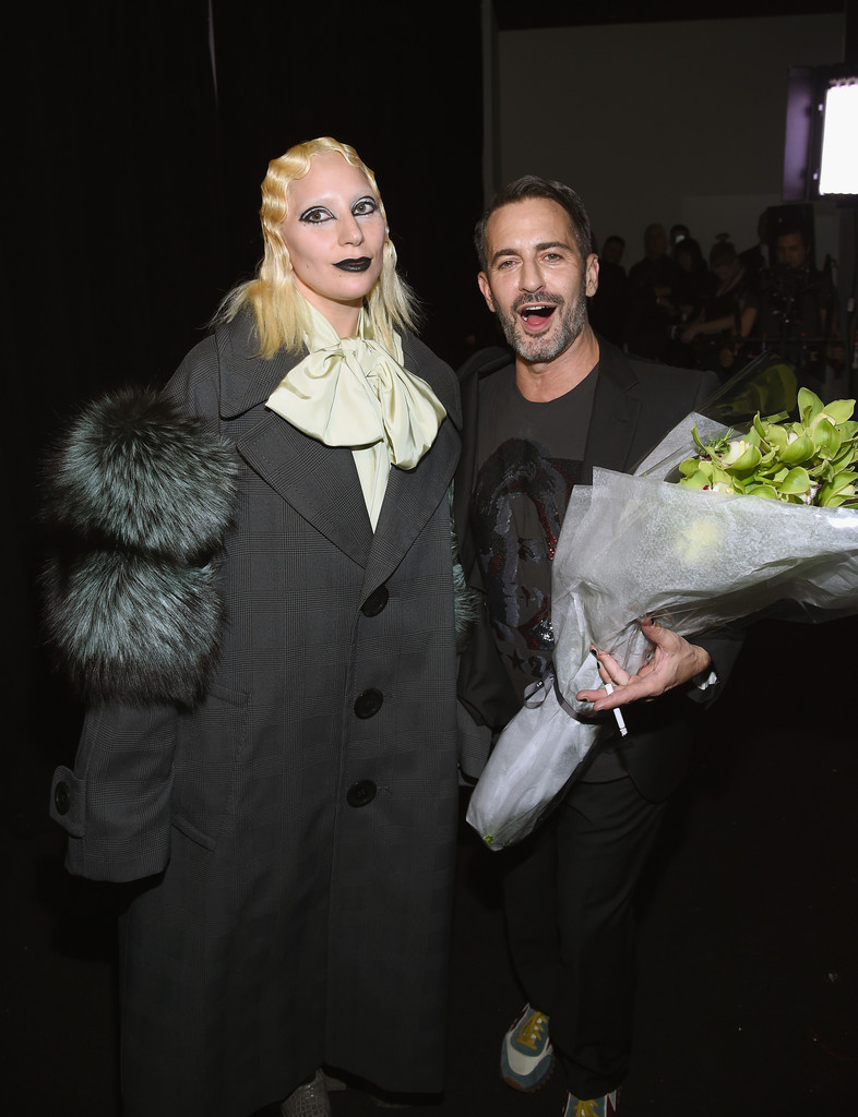 lady-gaga-marc-jacobs-nyfw-bouquet