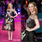 Leslie Mann  In  Reem Acra – 'How To Be Single' London Premiere