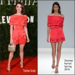 Maisie Williams in Zeynep Kartal  – 2016 London Evening Standard British Film Awards