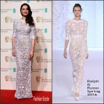Olga Kurylenko  In Ralph and Russo – 2016 EE British Academy Film Awards