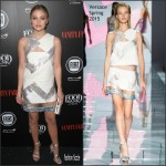 Olivia Holt  In Versace – Vanity Fair and FIAT Young Hollywood Celebration