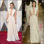 Olivia Wilde in Valentino Couture –  Oscars 2016  in Hollywood