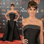 Penelope Cruz  In Atelier Versace – 2016 Goya Cinema Awards