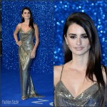 Penelope Cruz In  Atelier Versace – 'Zoolander No. 2' London Premiere