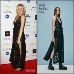 Pixie Lott  In Fendi – 2016 WhatsOnStage Awards in London