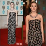 Saoirse Ronan In  Burberry – 2016 EE British Academy Film Awards