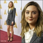Saoirse Ronan  In  Laura Basci –  Academy Awards 2016 Nominee Luncheon in Beverly Hills