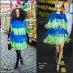 Solange Knowles  In Moschino – Mardi Gras 2016