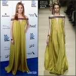Stana Katic  in Alberta Ferretti – 2016 Film Independent Spirit Awards