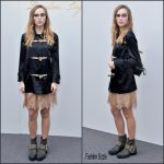 Suki Waterhouse  In  Burberry – Burberry Womenswear Autumn/Winter 2016 Show