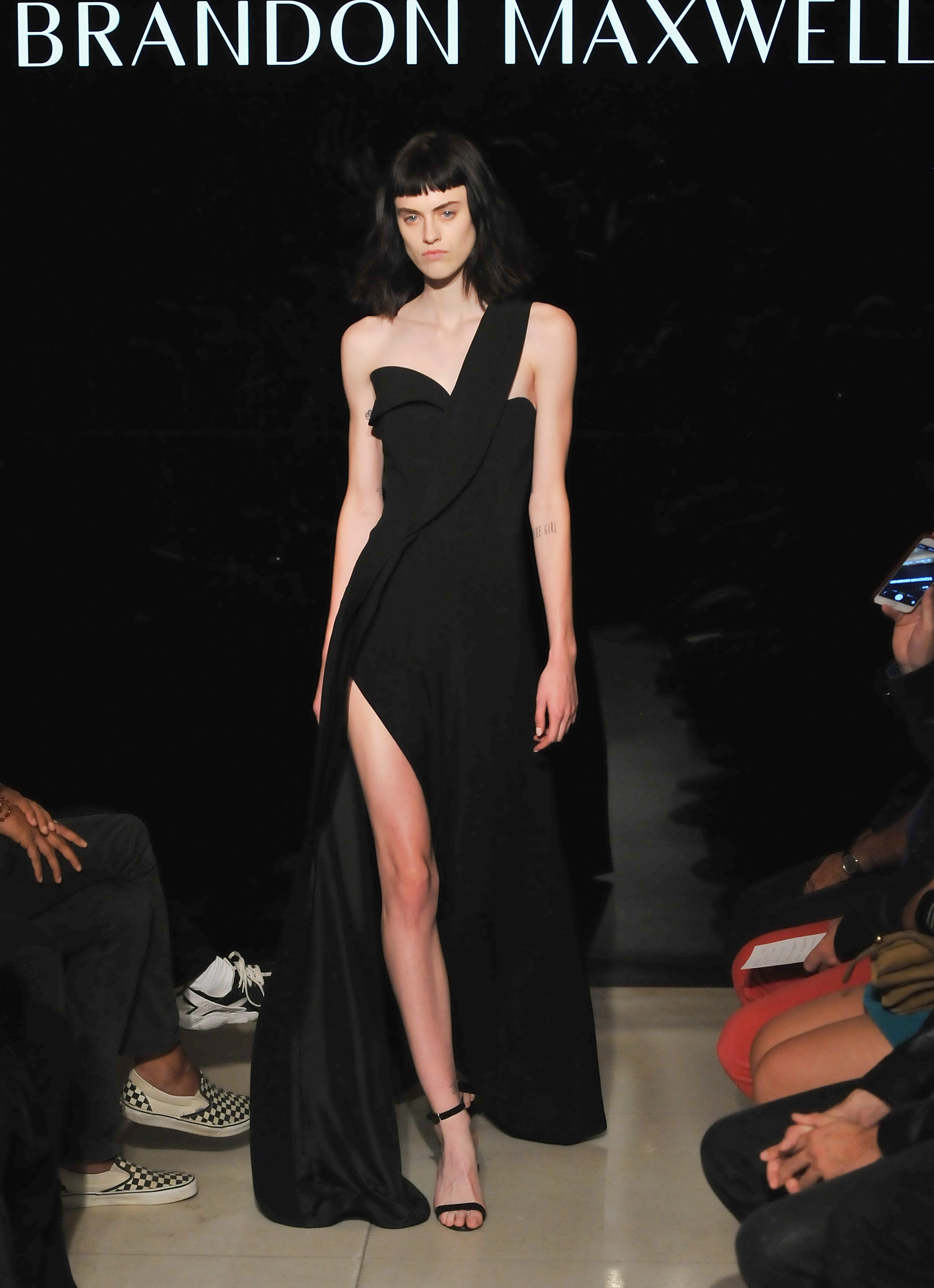 Brandon -Maxwell - Presentation - Spring 2016 New York Fashion Week